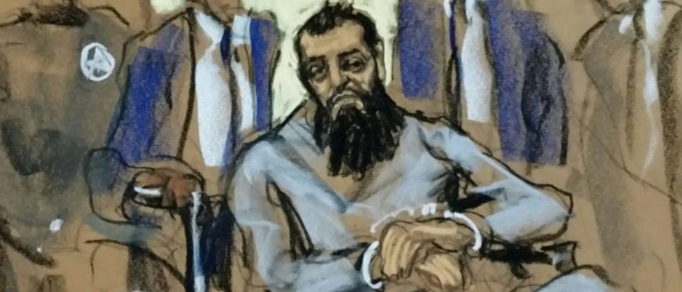 Sayfullo Saipov appears in Manhattan federal courtroom in a wheelchair in New York