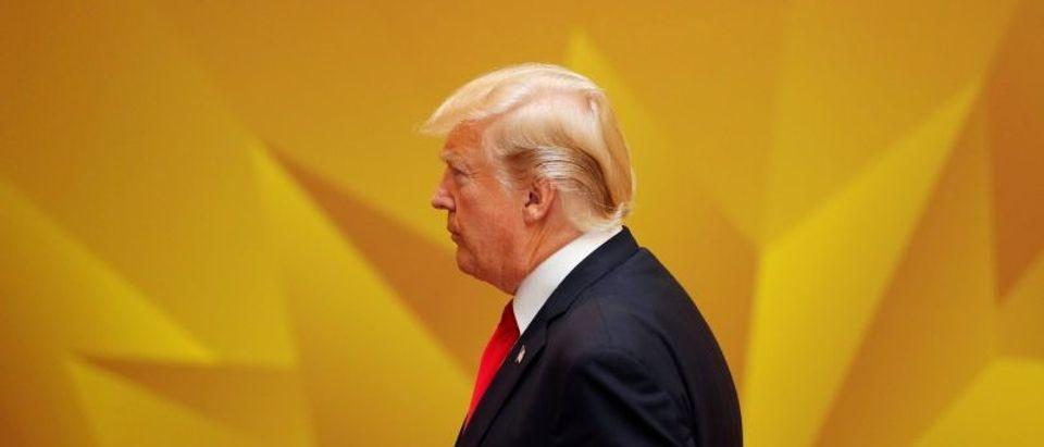 U.S. President Donald Trump attends the APEC Economic Leaders' Meeting in Danang, Vietnam