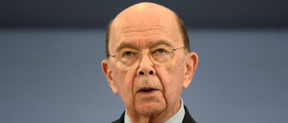 U.S. Commerce Secretary Wilbur Ross, speaks at the Conferederation of British Industry's annual conference in London