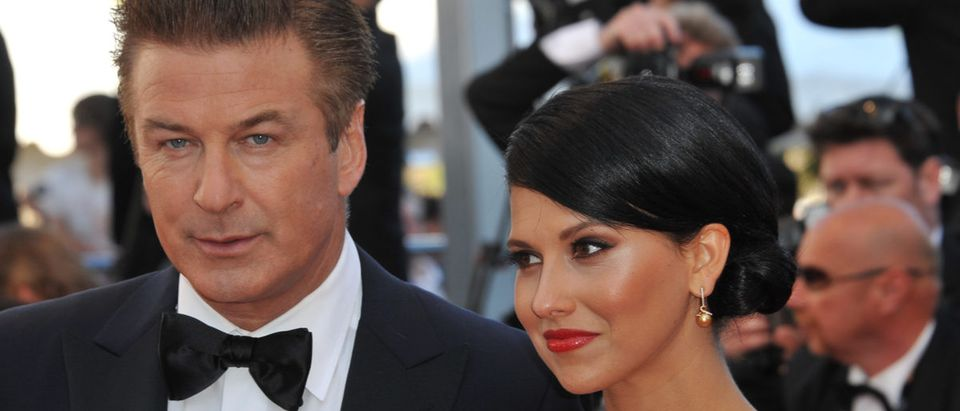 Alec Baldwin & Hilaria Thomas at the premiere of Moonrise Kingdom - the gala opening of the 65th Festival de Cannes. May 16, 2012 Cannes, France Picture: Paul Smith / Featureflash Featureflash Photo Agency(Shutterstock)