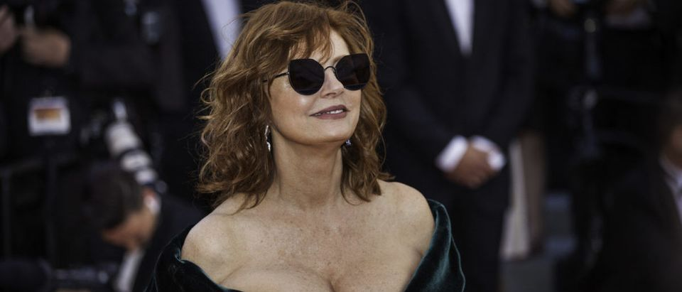 CANNES, FRANCE - MAY 17, 2017 Susan Sarandon attends the 'Ismael's Ghosts (Les Fantomes d'Ismael)' screening and Opening Gala during the 70th annual Cannes Film Festival at Palais des Festivals