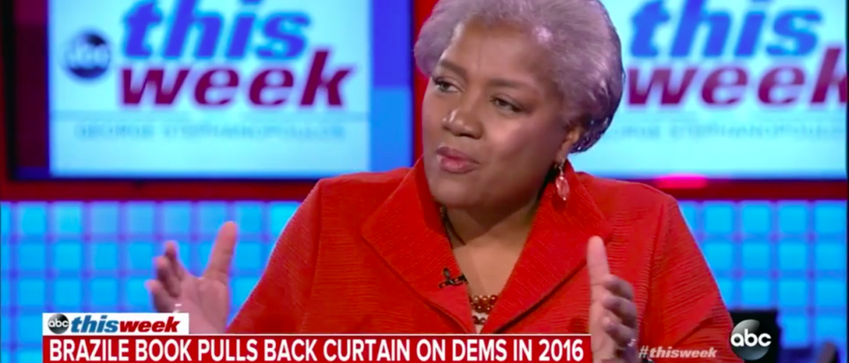 """Donna Brazile on ABC's """"This Week."""" (Screenshot/ABC)"""
