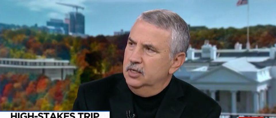 Friedman MSNBC screenshot