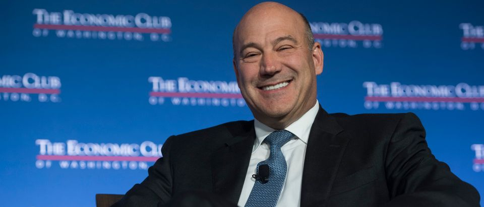 Gary Cohn, Director of the National Economic Council, speaks about tax reform to the Economic Club of Washington in Washington, D.C., November 2, 2017. (Photo: SAUL LOEB/AFP/Getty Images)