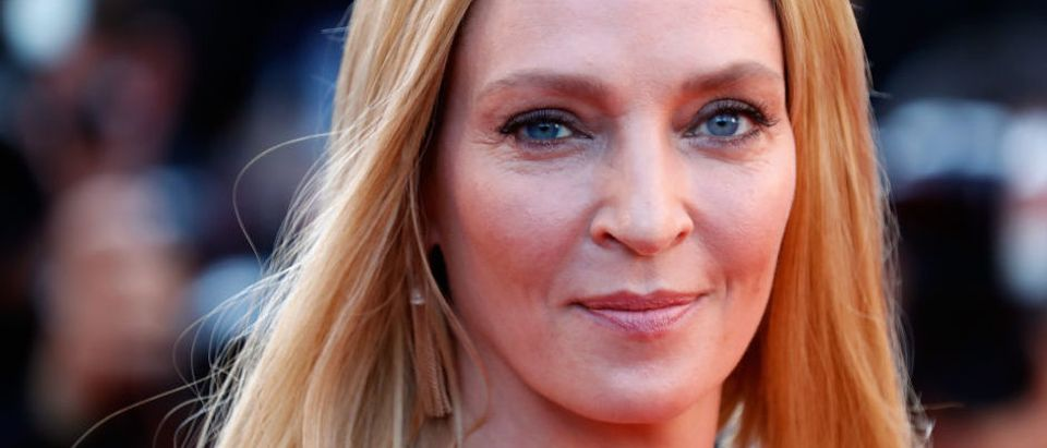 Uma Thurman attends the Closing Ceremony during the 70th annual Cannes Film Festival at Palais des Festivals on May 28, 2017 in Cannes, France. (Photo by Tristan Fewings/Getty Images)