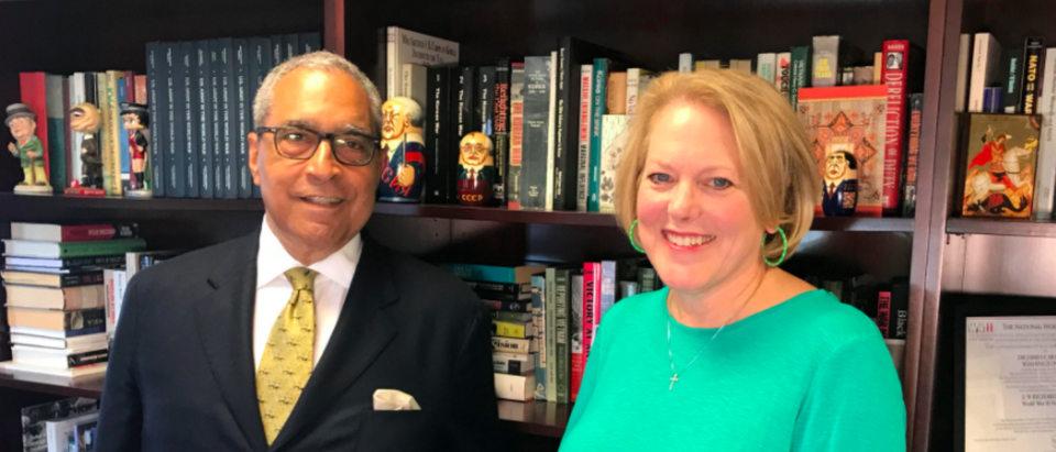 Ginni Thomas interview with Shelby Steele