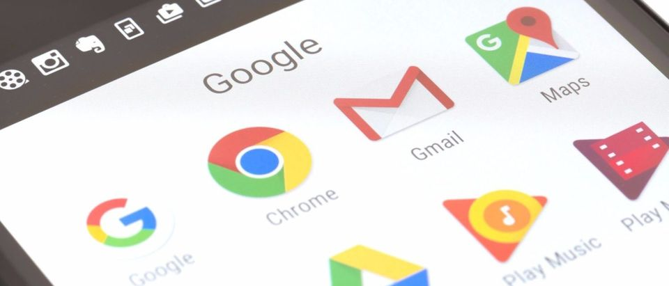 Here is an array of Google apps. [Shutterstock - ymgerman]