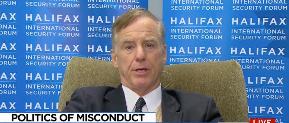 Howard Dean MSNBC screenshot