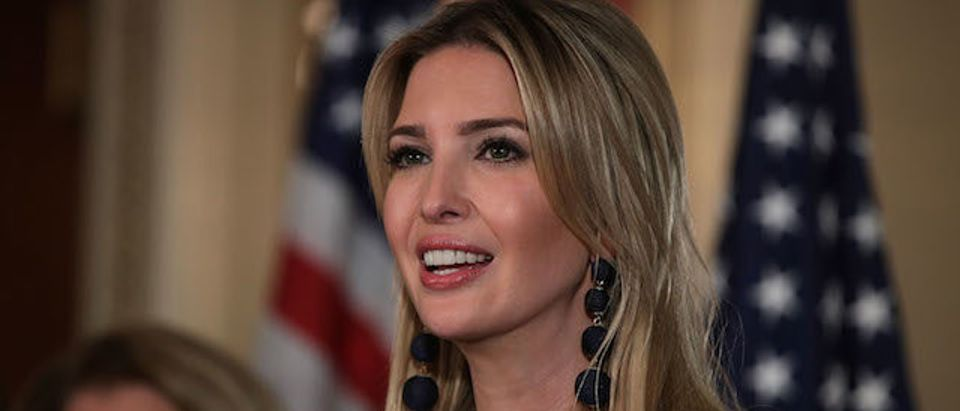 Ivanka Trump And GOP Lawmakers Discuss Child Tax Credit