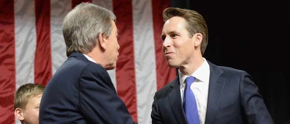 Sen. Roy Blunt Holds Election Night Gathering In Springfield, Missouri