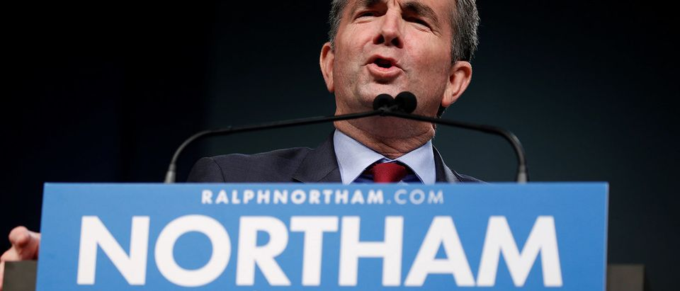 Virginia Lieutenant Governor Ralph Northam, Democratic candidate for governor, delivers remarks before introducing former U.S. President Barack Obama to speak at a rally with supporters in Richmond