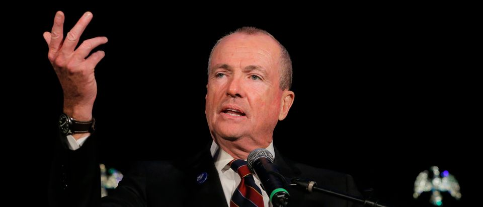 Phil Murphy speaks after being elected Governor of New Jersey in Asbury Park