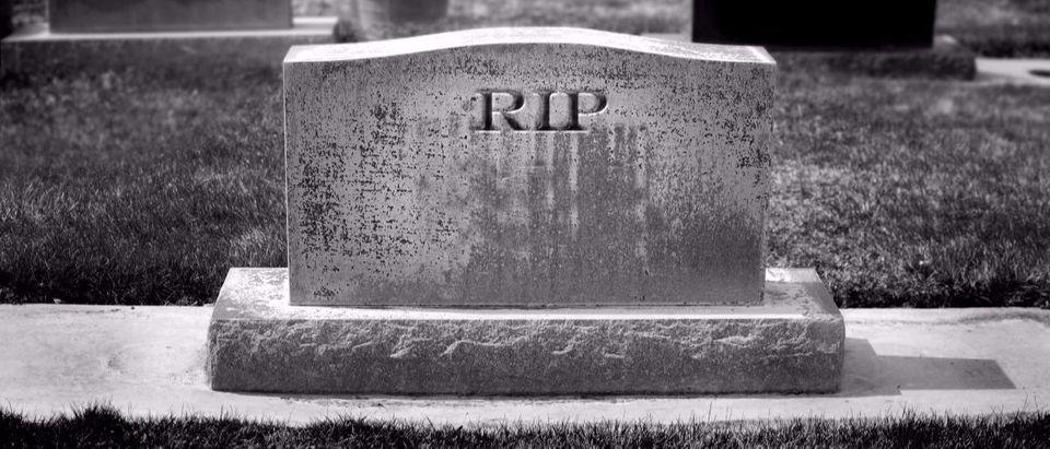 RIP tombstone Shutterstock/Lane V Erickson