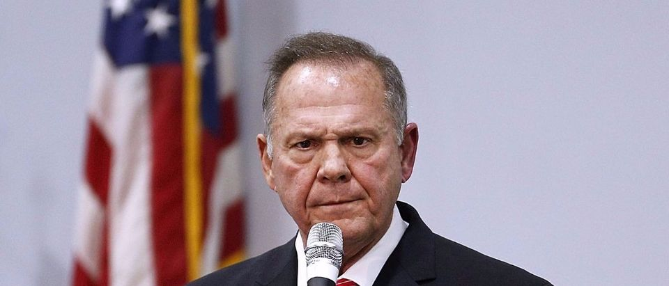 Roy Moore Getty Images/Jonathan Bachman