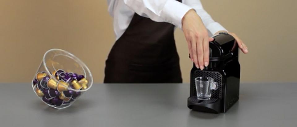 Nespresso (Amazon video screenshot)