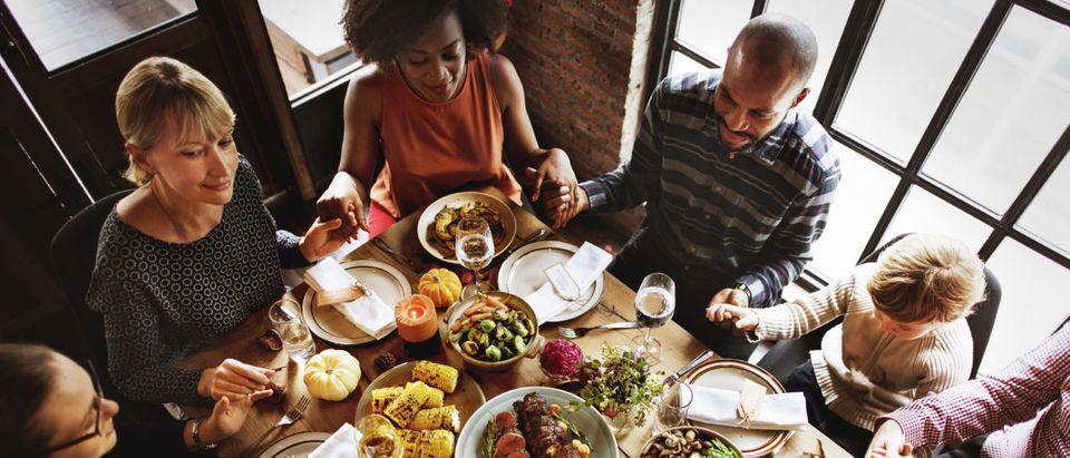 Thanksgiving Prayer (Shutterstock/ Rawpixel.com)