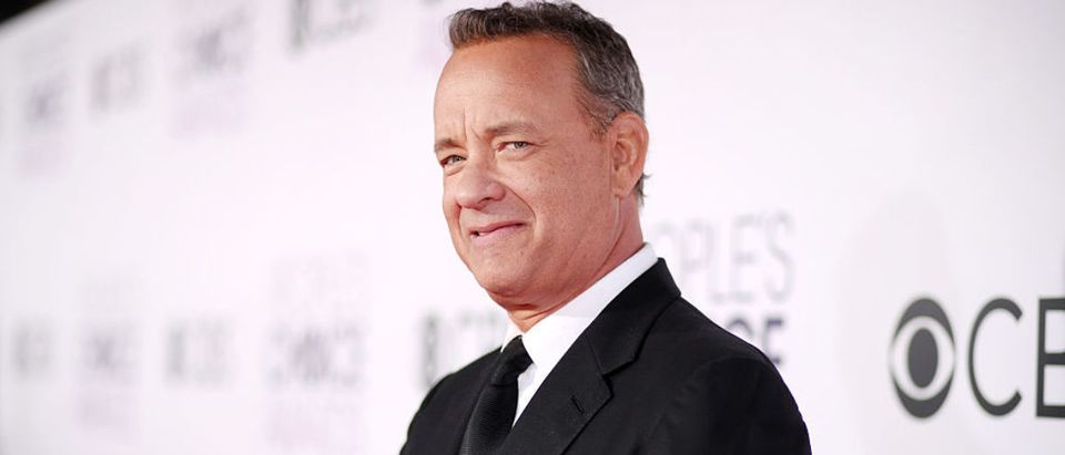 Actor Tom Hanks attends the People's Choice Awards 2017 at Microsoft Theater on January 18, 2017 in Los Angeles. (Photo by Christopher Polk/Getty Images for People's Choice Awards)