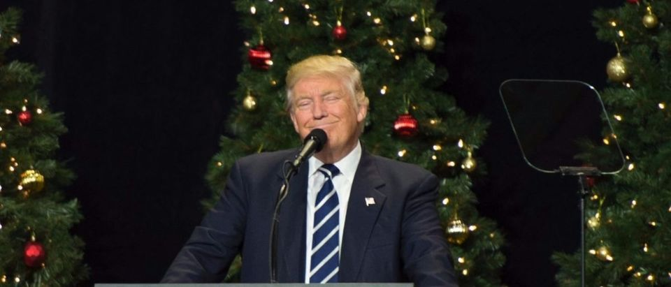 Trump Christmas Getty Images/Don Emmert