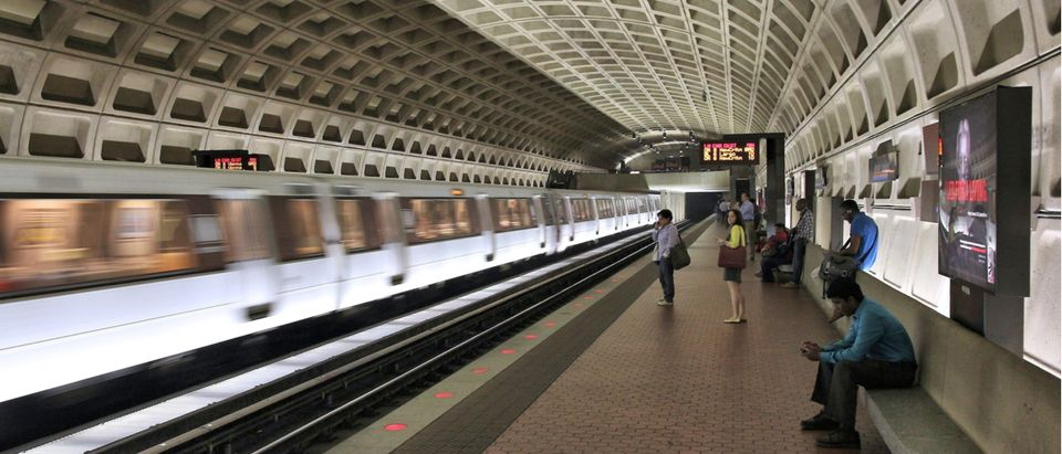 Washington DC Metro Tunnel