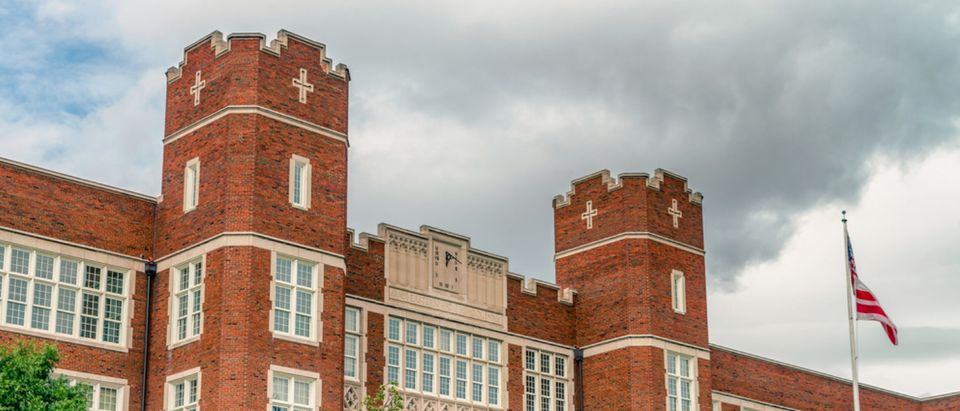 Founded in 1890, Eastern High School is a public high school located in Washington, D.C. It educates about 1100 students in grades 9 through 12. (Shutterstock/Valerii Iavtushenko)