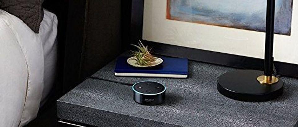 The Echo Dot (Photo via Amazon)