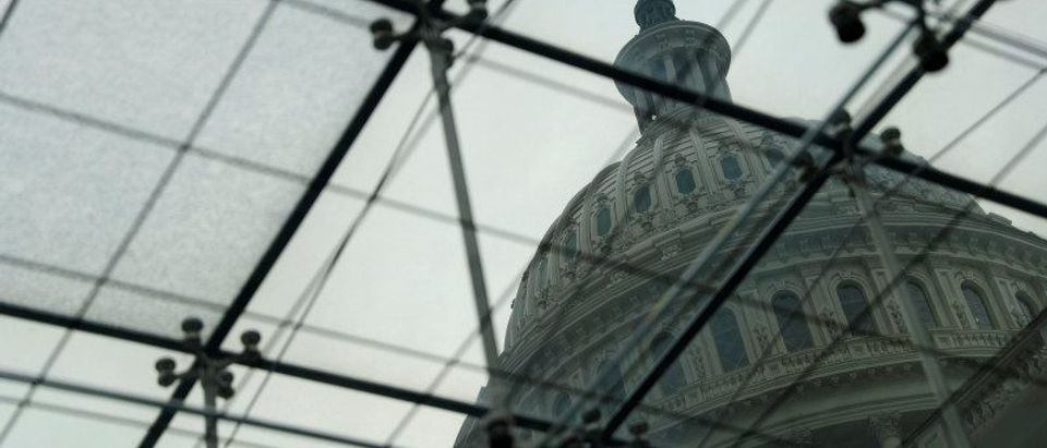 FILE PHOTO: The US Congress Capitol Building is seen from the Congressional Visitors Center in Washington