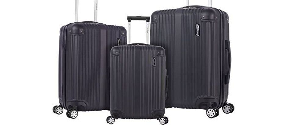 Normally $330, this 3-piece luggage set is 68 percent off today (Photo via Amazon)