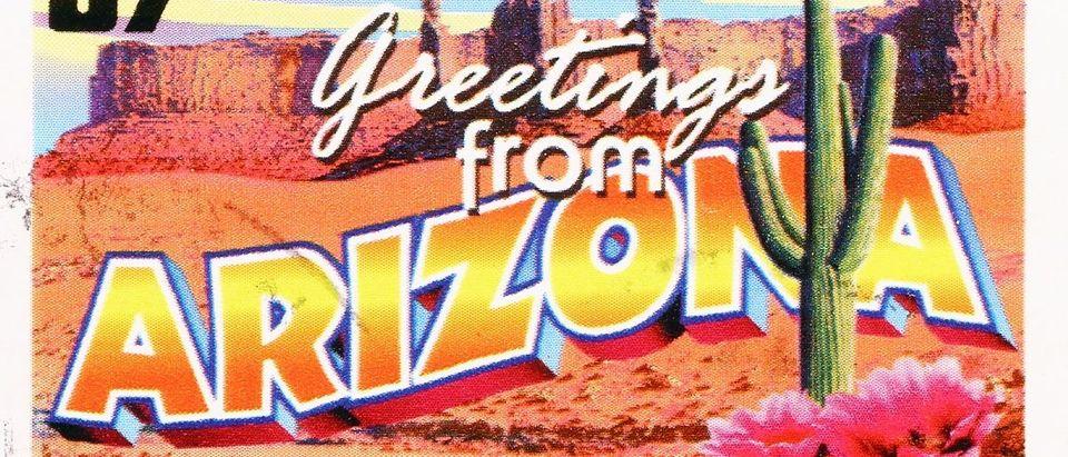 Arizona greetings Shutterstock/spatuletail