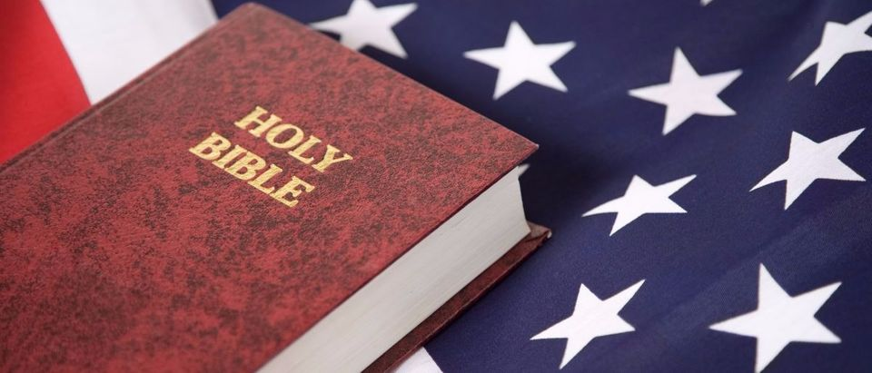 A Bible is pictured. Shutterstock/Mark Hayes
