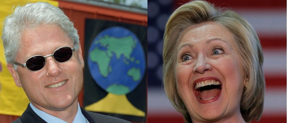 Bill Clinton and Hillary Clinton Getty Images/Paul J Richard, Reuters/Jim Young