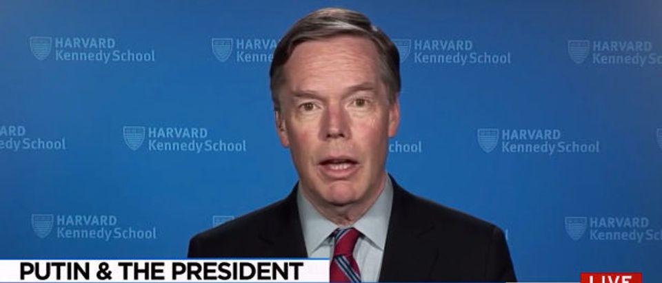 Burns MSNBC screenshot