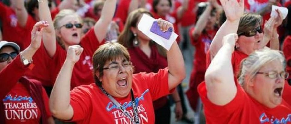 Chicago Teachers Union strike Reuters/John Gress