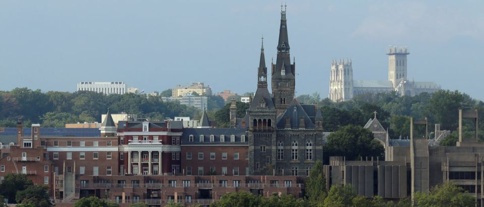 Georgetown University stands in Washington, U.S., September 1, 2016. (Photo: REUTERS/Joshua Roberts)