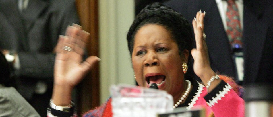 Rep.Sheila Jackson Lee (R)(D-TX) becomes