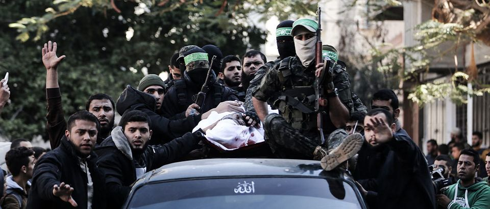 Clashes, Palestinian rocket fire and Israeli air strikes killed at least two people and wounded dozens of others on December 8 in violence linked to US President Donald Trump's declaration of Jerusalem as Israel's capital. Getty Images / AFP PHOTO / MAHMUD HAMS/Getty