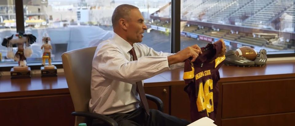 Herm Edwards (Credit: Screenshot/YouTube Sun Devil Athletics)