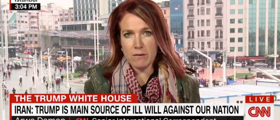 Iran CNN screenshot