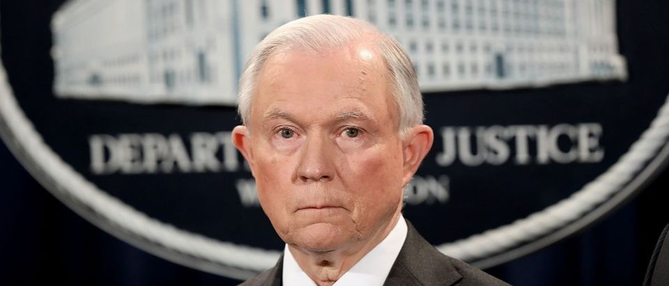 Jeff Sessions Getty Images/Win McNamee