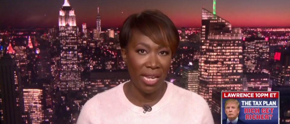 Joy Reid MSNBC Screenshot December 15