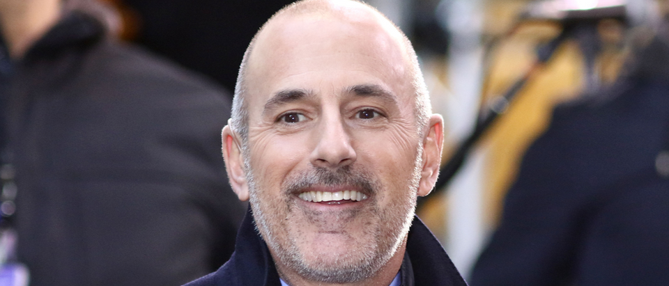 Matt Lauer listed as #2 of most searched on google