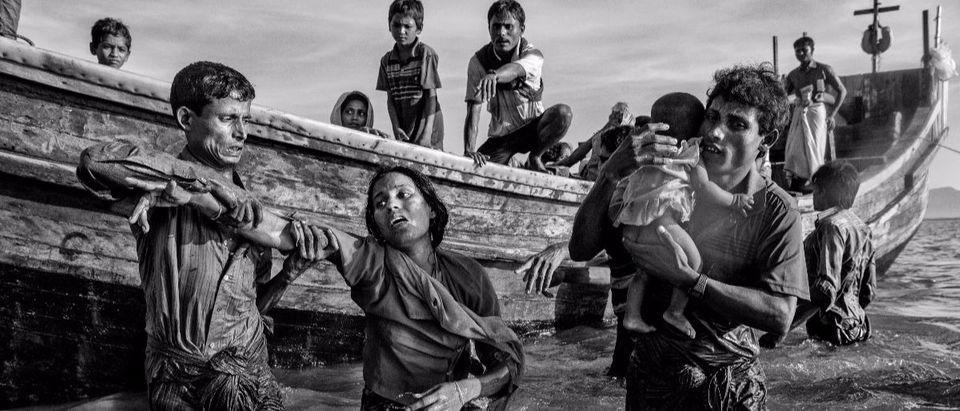 Myanmar refugees Getty Images Kevin Frayer