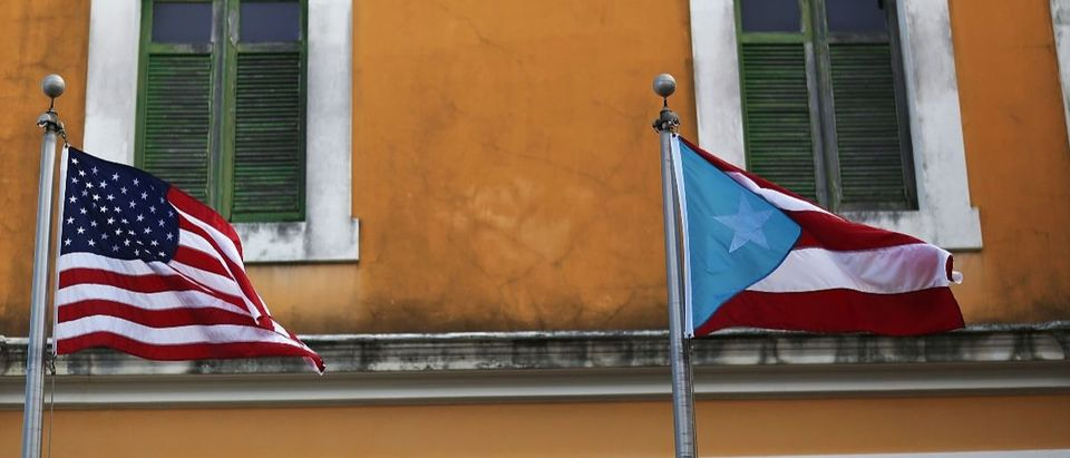 Puerto Rico Getty Images/Joe Raedle
