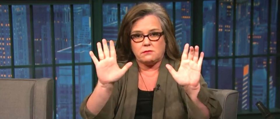 Rosie ODonnell YouTube screenshot/Late Night with Seth Meyers