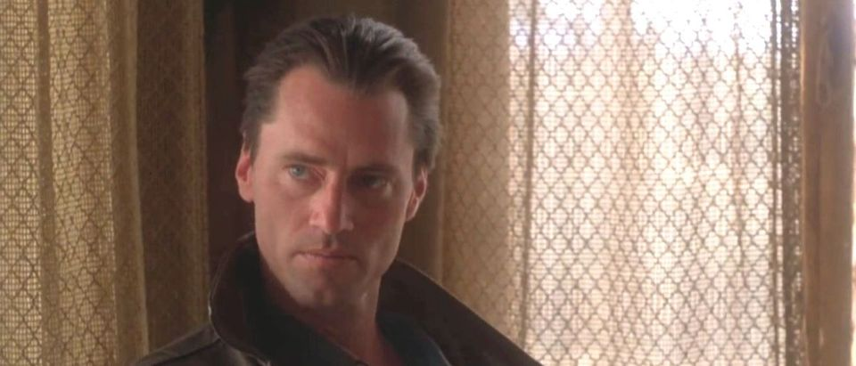 Sam Shepard as Chuck Yeager in The Right Stuff YouTube screenshot/Nick Callas