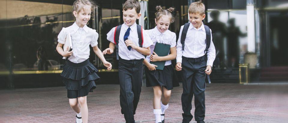 School children are playing. Photo: Shutterstock/Matva