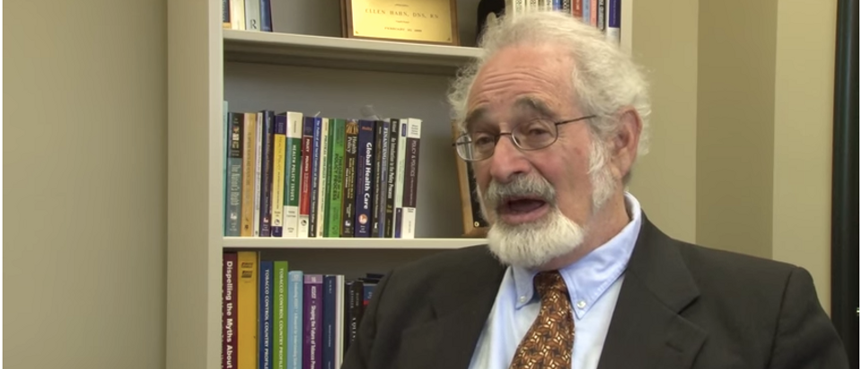 Stanton Glantz (YouTube screenshot/University of Kentucky)