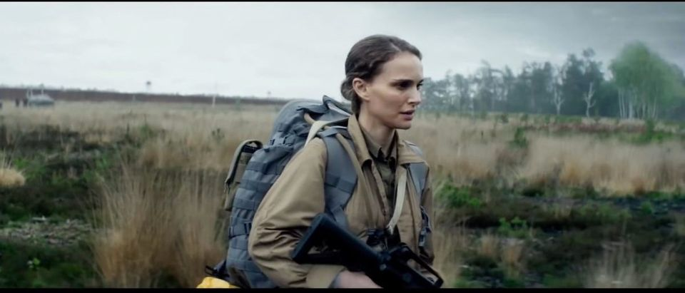 Annihilation (Credit: Screenshot/YouTube Movieclips Trailers)