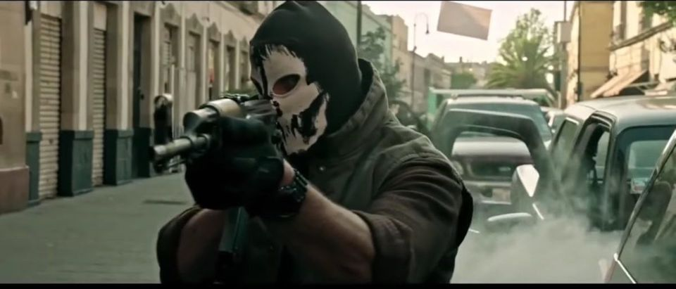 Sicario (Credit: Screenshot/YouTube Movieclips Trailers)