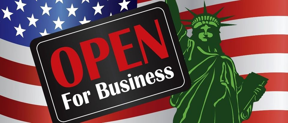 USA open for business Shutterstock/JPL Designs