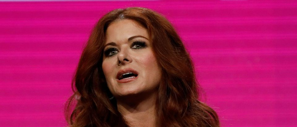 "Cast member Debra Messing attends a panel for the television series ""Will & Grace"" during the TCA NBC Summer Press Tour in Beverly Hills, California, U.S., August 3, 2017. REUTERS/Mario Anzuoni"